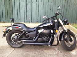 Honda 750 Shadow Phantom 2010 #7