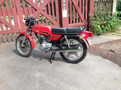 Honda CB125T2 glorifying roads #7