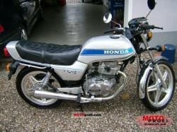 1981 Honda CB250N (reduced effect)
