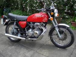 Honda CB400N (reduced effect)