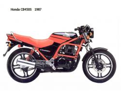 Honda CB450S (reduced effect) 1987