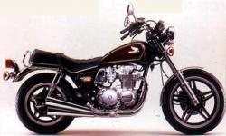 Honda CB650 (reduced effect) 1980