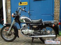 Honda CD200T Benly 1984 #4