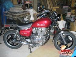 Honda CM400T (reduced effect) 1983 #6