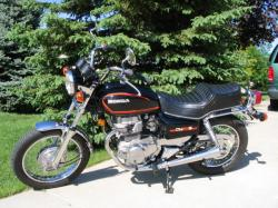 Honda CM400T (reduced effect) 1983 #8