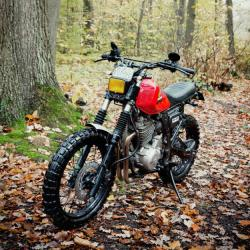 Honda NX650 Dominator (reduced effect) 1991 #9
