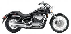 Honda Shadow 750 Black Spirit 2010 #4