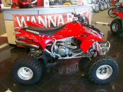 Honda TRX450R Kick Start 2009