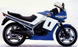 1986 Honda VF1000F (reduced effect)