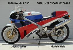 Honda VFR750R / RC30 (reduced effect) #8