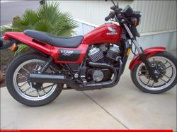Honda VT500E (reduced effect) 1986 #8