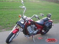 Honda VT600C (reduced effect) #4
