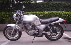 Honda XBR500 (reduced effect) 1986 #6