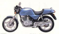 Honda XBR500 (reduced effect) 1987