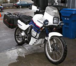 Honda XL600V Transalp (reduced effect) 1990 #6