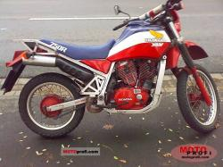 Honda XLV750R (reduced effect) 1984 #4