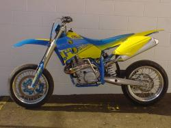 Husaberg Super motard #8