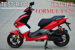 The combined look and feel with Italjet Formula 125