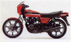 Kawasaki GPZ550 (reduced effect)