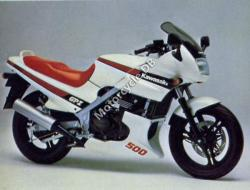 Kawasaki GPZ550 (reduced effect) 1989 #4
