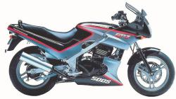 Kawasaki GPZ900R (reduced effect) 1991 #10
