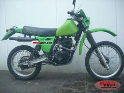 Kawasaki KLR250 (reduced effect) 1989 #10