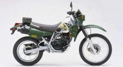 Kawasaki KLR250 (reduced effect) 1991