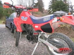 Kawasaki KLR600E (reduced effect) 1988 #3
