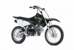Kawasaki KLX110 Monster Energy 2009