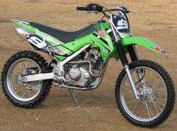Kawasaki KLX140 Monster Energy #11