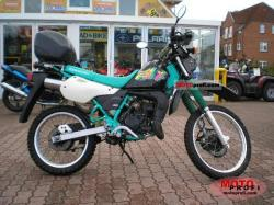 Kawasaki KMX125 (reduced effect) 1988