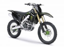 Kawasaki KX250F Monster Energy 2009