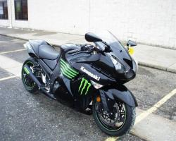 Kawasaki Ninja ZX-14 Monster Energy 2009 #9