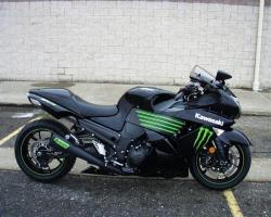 Kawasaki Ninja ZX-14 Monster Energy 2009 #4