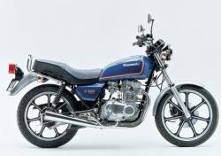 Kawasaki Z400F (reduced effect) 1984 #7
