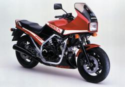 Kawasaki Z400F (reduced effect) 1984 #8