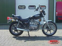1986 Kawasaki Z450 LTD (reduced effect)