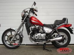 1989 Kawasaki Z450 LTD (reduced effect)