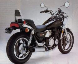 Kawasaki ZL600 (reduced effect)