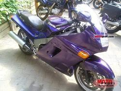 Kawasaki ZZR1100 (reduced effect) 1991