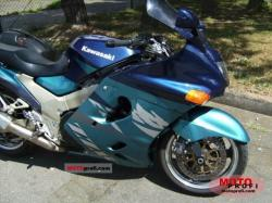 Kawasaki ZZR1100 (reduced effect) 1992 #6