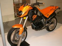KTM 640 Duke II Black 2005 #12