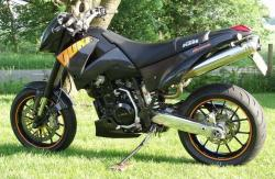 KTM 640 Duke II Black 2005 #4