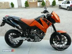 KTM 640 Duke II Black 2005 #9