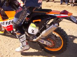 KTM 660 LC4 Rally Factory Replica 2003 #5