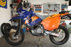 KTM 660 LC4 Rally Factory Replica 2003 #8