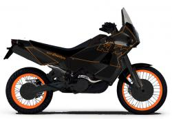 KTM 950 Adventure Silver/Orange/Black 2004 #3