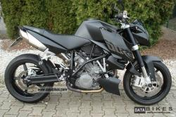 KTM 990 Superduke Black 2006 #4