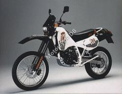KTM Enduro 600 LC 4 (reduced effect) 1989