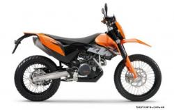 KTM Enduro 600 Rallye (reduced effect) 1989